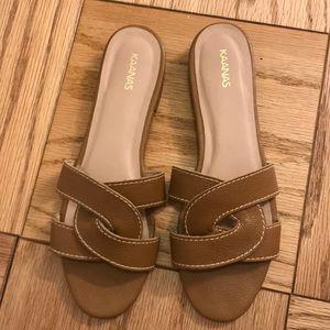 Kaanas Leather Sandals